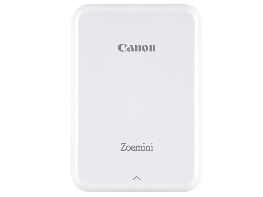 Mini Photo Printer Canon Zoemini PV123, White/Silver White