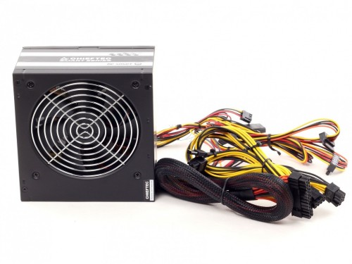 Power Supply ATX 600W Chieftec GPS-600A8 ATX 12V 2 3 120mm