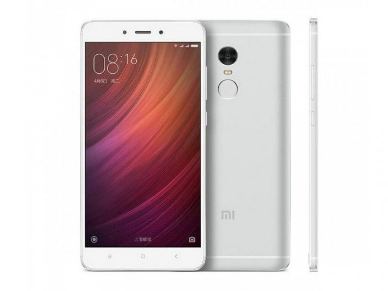 ATEHNO - Xiaomi RedMi Note 4 Pro 64GB White, DualSIM, 5 5