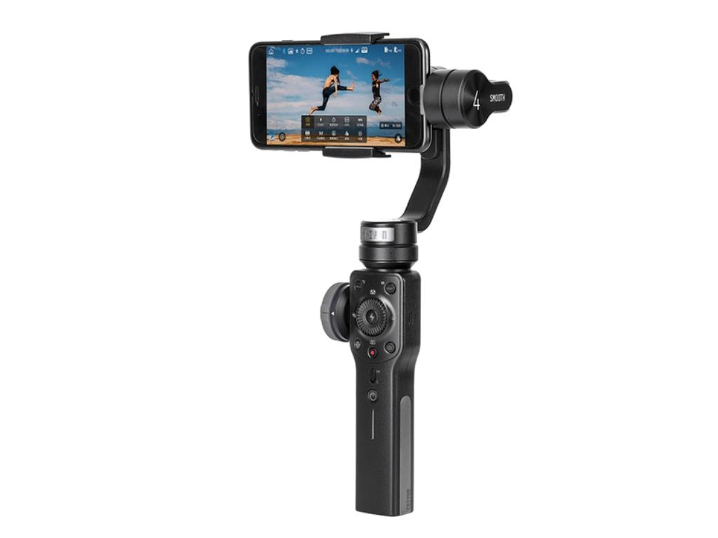 Zhiyun Smooth 4 3-Axis <b>Handheld Gimbal Portable</b> Stabilizer for ...